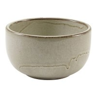 Grey Terra Porcelain Round Bowl