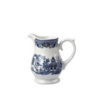 Churchill Blue Willow Milk / Cream Jug 28cl / 10oz