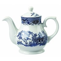 Churchill Blue Willow Tea Pot 15oz 2-3 Cup