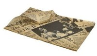35x25cm Brown Greaseproof Paper