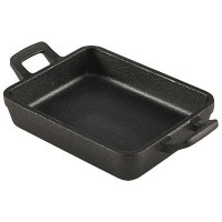 Mini Cast Iron Rectangular Dish