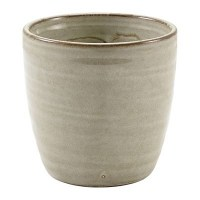 Grey Terra Porcelain Chip Cup