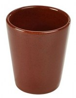 RED Rustic Conical Food-Chip Service Cup