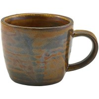 Copper Terra Porcelain Cup