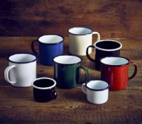 Coloured Enamel Cups3