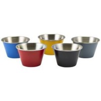 71ml Stainless Steel Coloured Ramekin