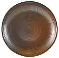 Copper Terra Deep Coupe Plate