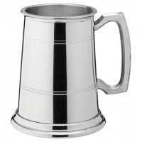 Albany Polished Pewter Tankard 20oz / PINT / 58cl