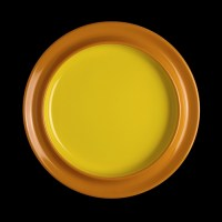 Freedom Melamine Plate Yellow