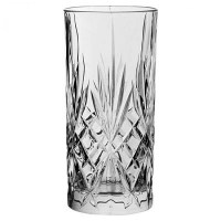 Melodia Crystal Cut Long Drink Glass 12.5oz / 35cl