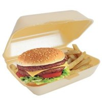 HP2 Burger & Chip Takeaway Box