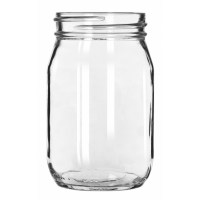 Craft Drinking Jar No Handle 16oz / 45.5cl