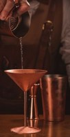 24cl Copper Martini Glass