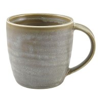 Matt Grey Terra Porcelain Mug