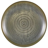 Matt Grey Terra Deep Coupe Plate