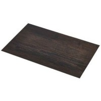 Dark Wood Effect Placemats