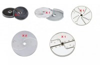 Robout Coupe CL50 Restaurant Pack of 8 Discs