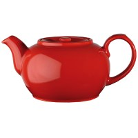 4 Cup Churchill RED Cafe Nova Teapot