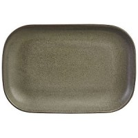 Rectangular Stoneware ANTIGO GREY Plate