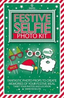 CHRISTMAS SELFIE PHOTO KIT. 24 Pieces per box
