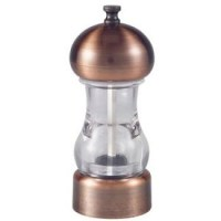 Antique Copper and Clear Acrylic Salt or Pepper grinder