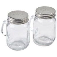 Mason Jar Salt & Pepper Set