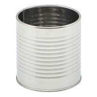 Galvanised Steel Can Table Caddy