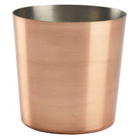 42cl Copper Plated Serving Cup