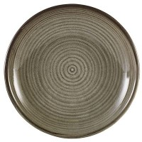 Smoke Grey Terra Deep Coupe Plate