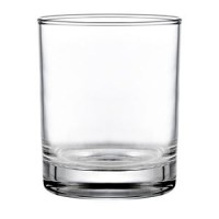 Vicrila Merlot Rocks Tumbler - Fully Tempered - 24cl / 8.4oz