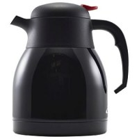 1.2Ltr BLACK Vacuum Jug with Unbreakable Liner