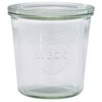 WECK Glass Storage Jar + Lid 58cl / 20.4oz