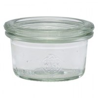 WECK Mini Glass Storage Jar + Lid 1.75oz / 5cl