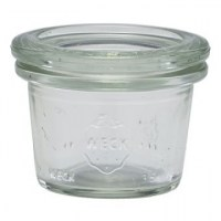 WECK Mini Storage Jar + Lid 1.25oz / 3.5cl