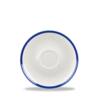 12cm Churchill Retro Blue Coupe Saucer