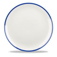 21.7cm Churchill Retro Blue Coupe Plate