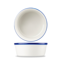 13.5cm Churchill Retro Blue Round Pie Dish