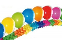 12 inch Multi Coloured Balloons