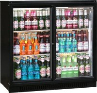 Double Bottle Cooler with Sliding or Hinged Doors