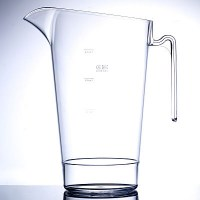 4 Pint STACKING REUSABLE PLASTIC Beer Jug LINED