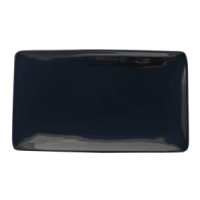 Simply BLACK Rectangular Plate