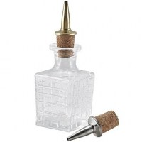 10cl / 3.5oz Bitters Bottle shown with pourer (available separately)