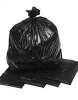 Black Refuse Sack 18x29x39