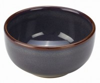 Rustic Stoneware Bowl in BLUE