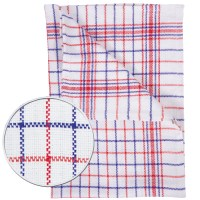 Checked Cotton Tea Towel 45 x 70cm