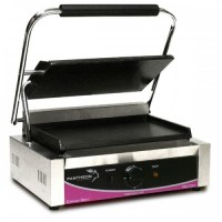 Pantheon Large Smooth Single Contact Grill