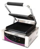 Pantheon Ribbed Single Contact Grill