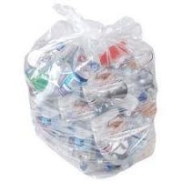 Clear Compactor Rubbish Sack 22x34x47inch