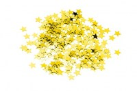 Gold Star Shaped Table Confetti