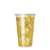 Biodegradable Plastic Beer Tumbler 10oz / HALF PINT